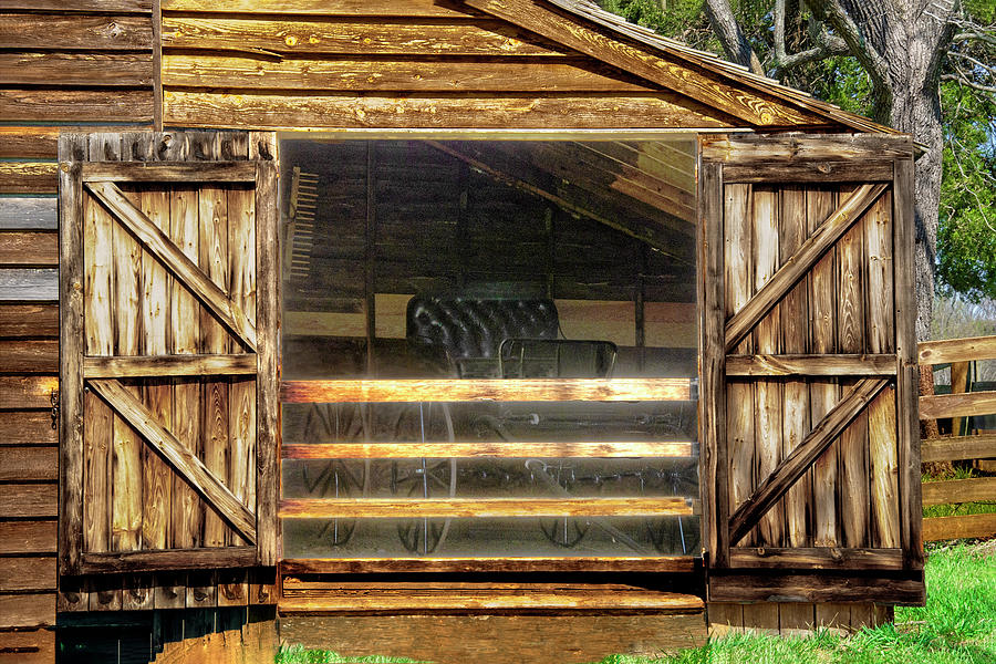 Appomattox Courthouse Barn Photograph