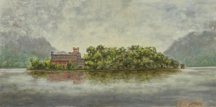 Bannerman Island Painting - Approaching Bannerman Island by Rose Gennaro