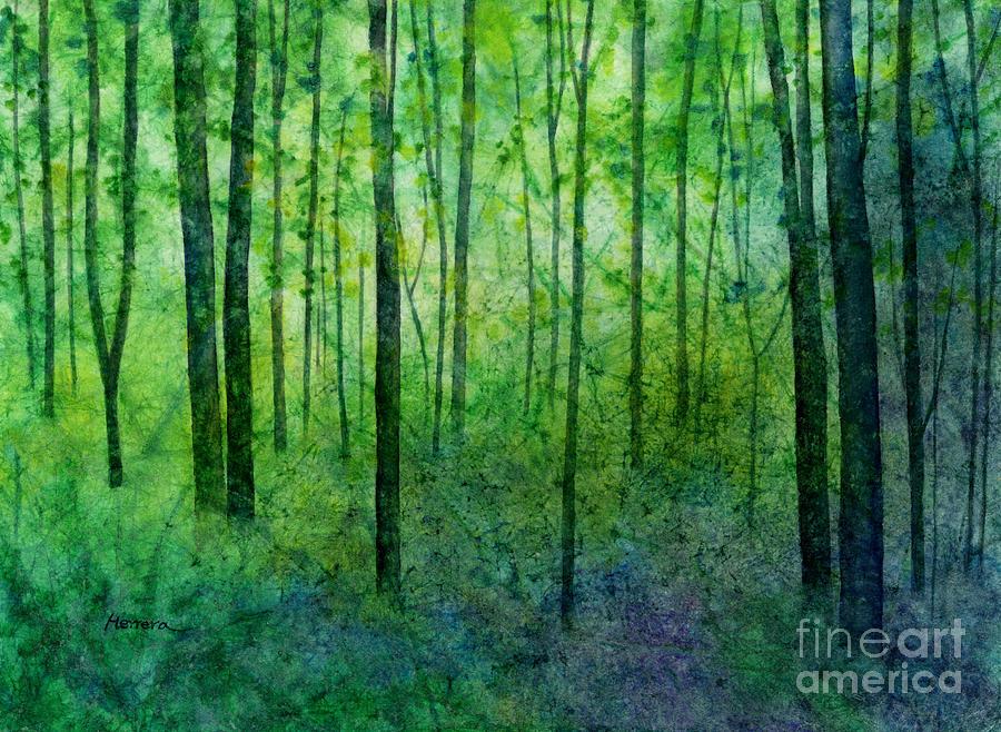 April Hues Painting