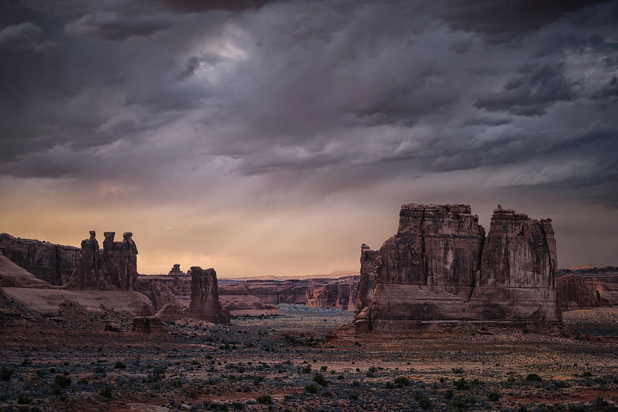 Arches National park 3 by Robert Fawcett