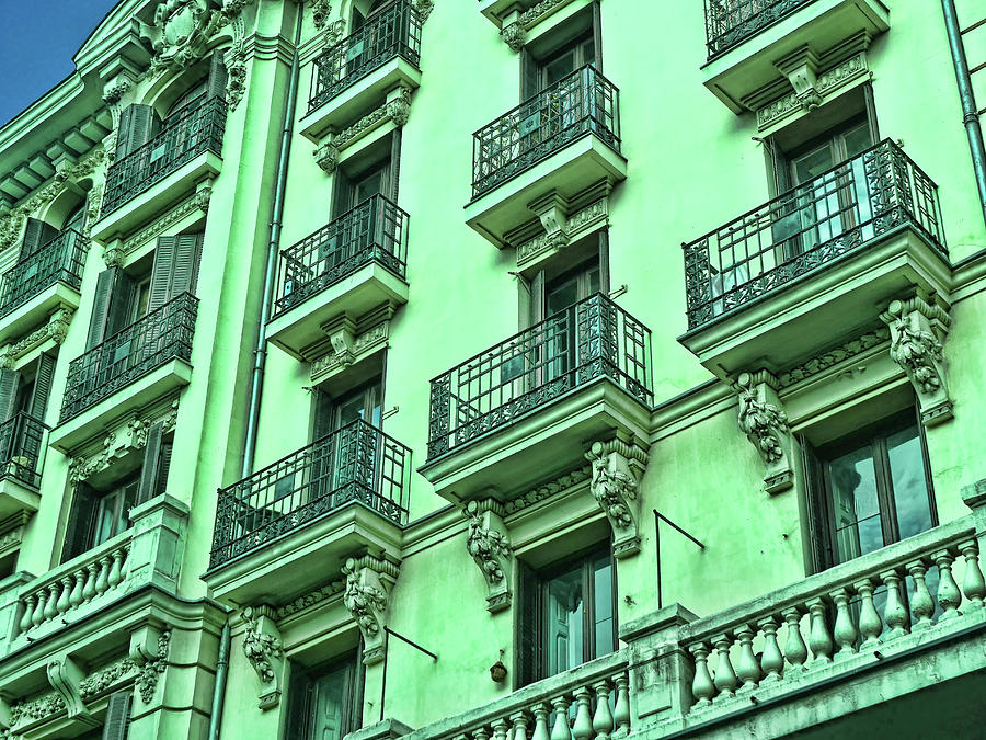 Architectural Detail # 10 - Madrid Photograph