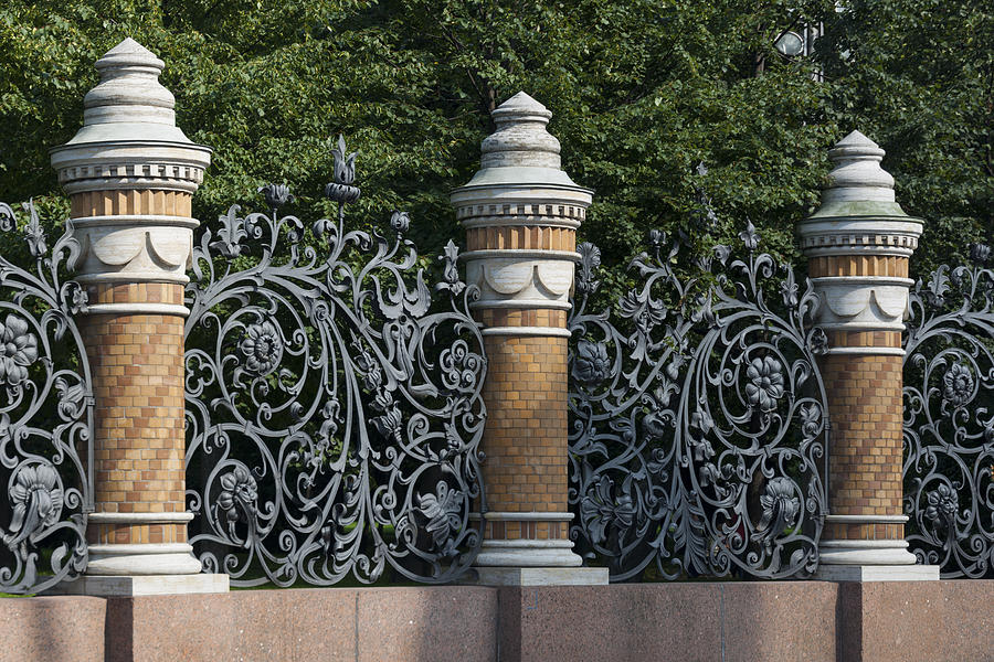 Architectural detail in Russia Photograph by Fotosearch