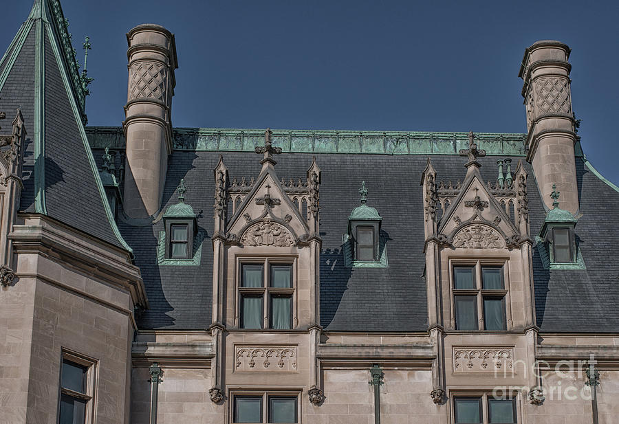 Architecture - Biltmore Estate Photograph