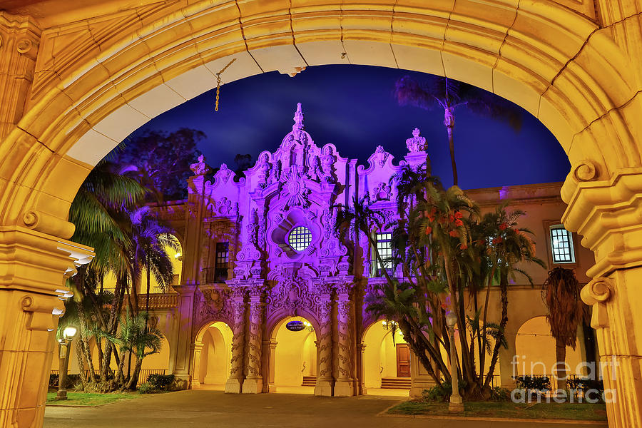 Archway to Balboa Park  by Sam Antonio Photography