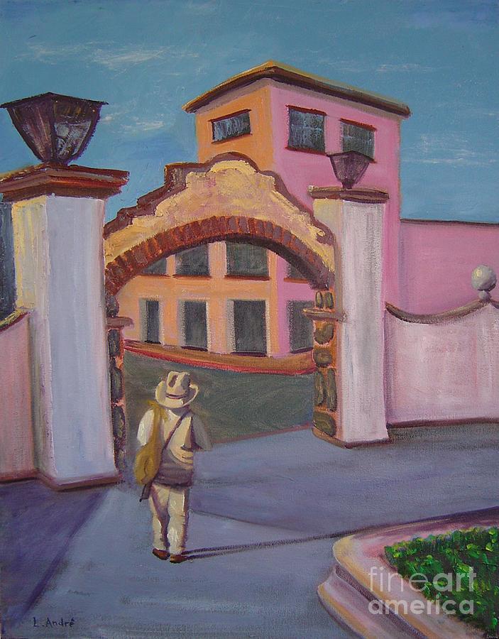 Mexico Painting - Arco de Jiutepec by Lilibeth Andre