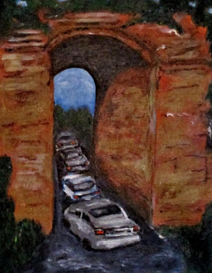 Arco Felice Traffic Jam by Clyde J Kell