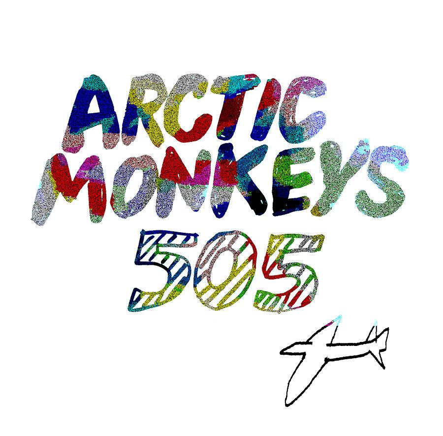 Arctic Monkeys 2007 Drawing