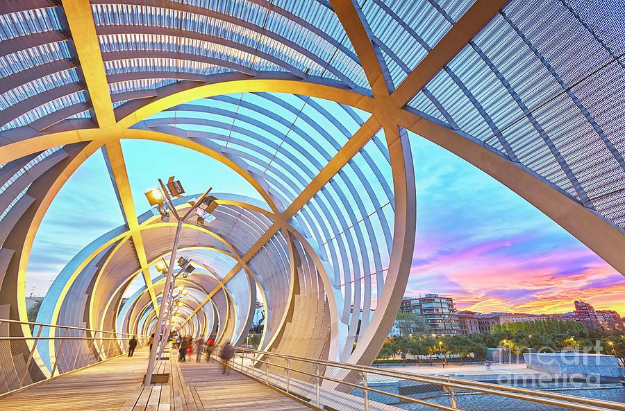 Architecture Photograph - Arganzuela Bridge by Facto Foto