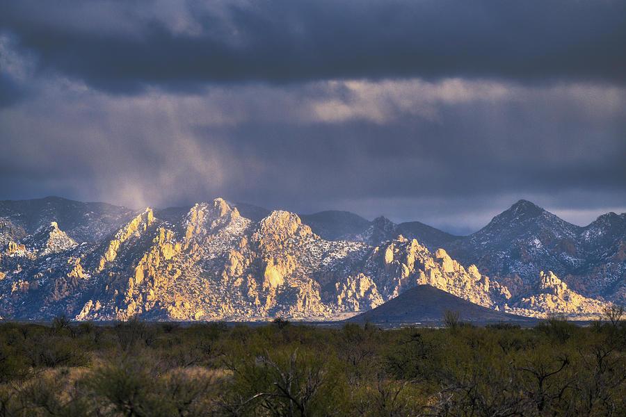 Arizona Mountains in Winter by Chance Kafka