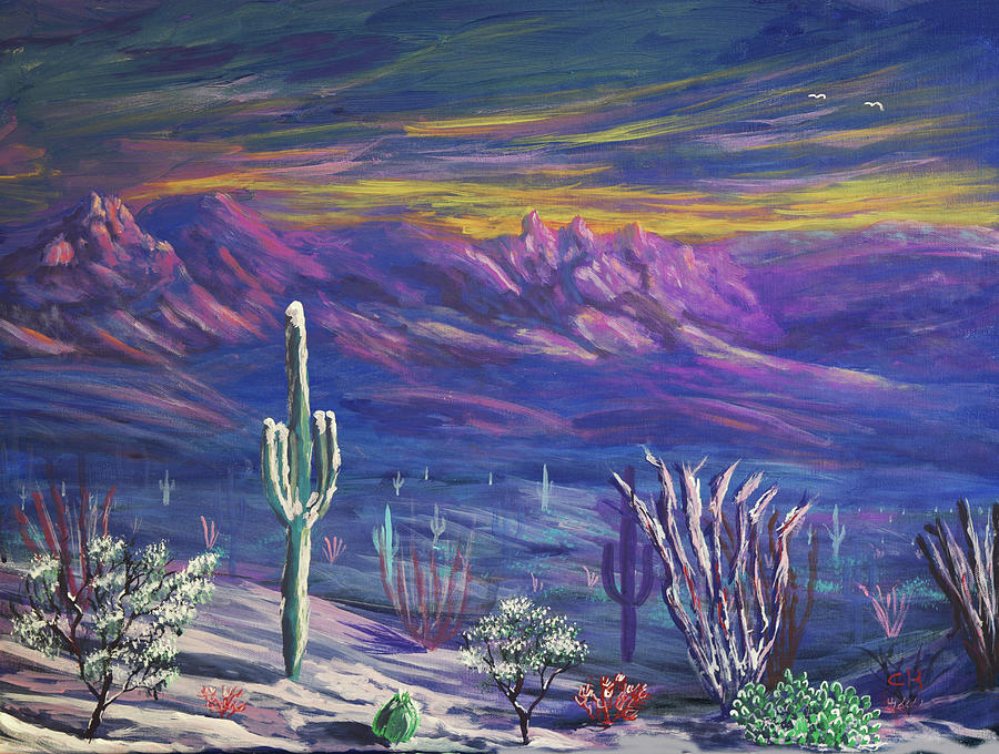 Arizona Winter by Chance Kafka