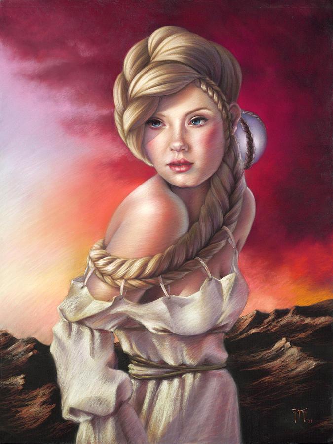 Armageddon Aphrodite by Melanie Stimmell Van Latum