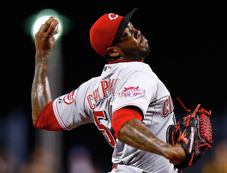 Aroldis Chapman Photograph by Jared Wickerham