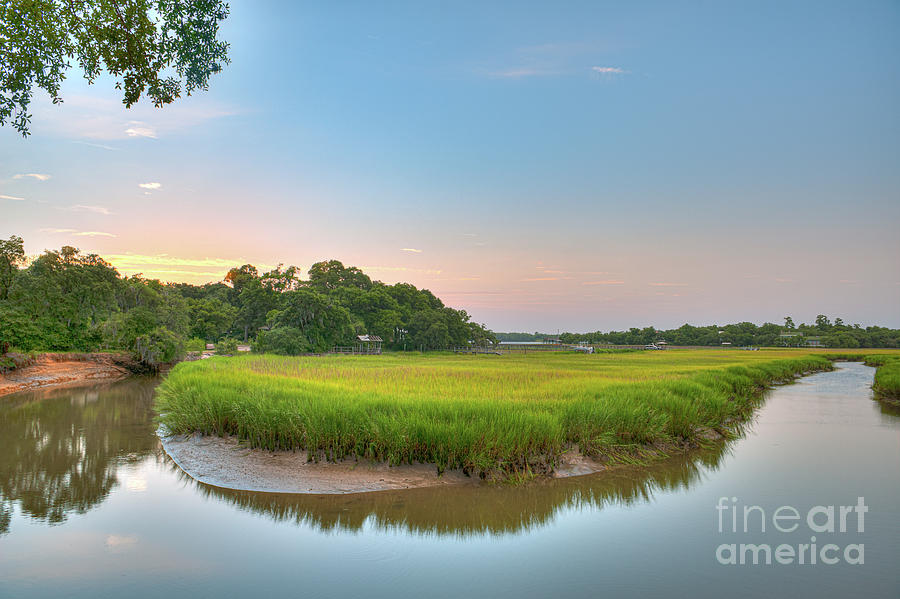 Around The Bend - Remleys Point In Charleston Photograph