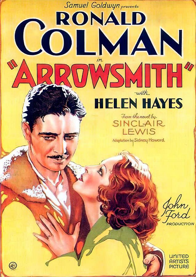 arrowsmith, With Ronald Colman, 1931 Mixed Media
