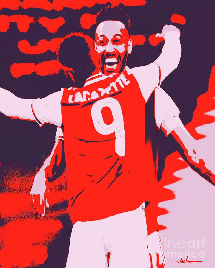 Arsenal Painting - Arsenal Reaches FA Cup Final by Jack Bunds