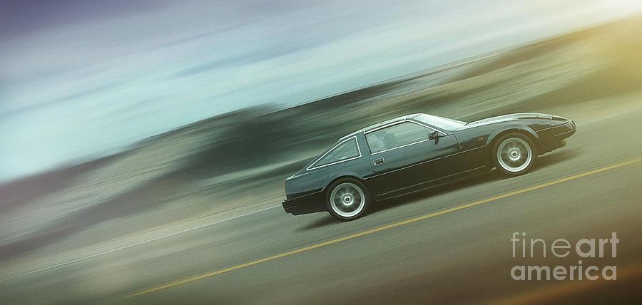 Cars Digital Art - Art - Cruising the Highway by Matthias Zegveld