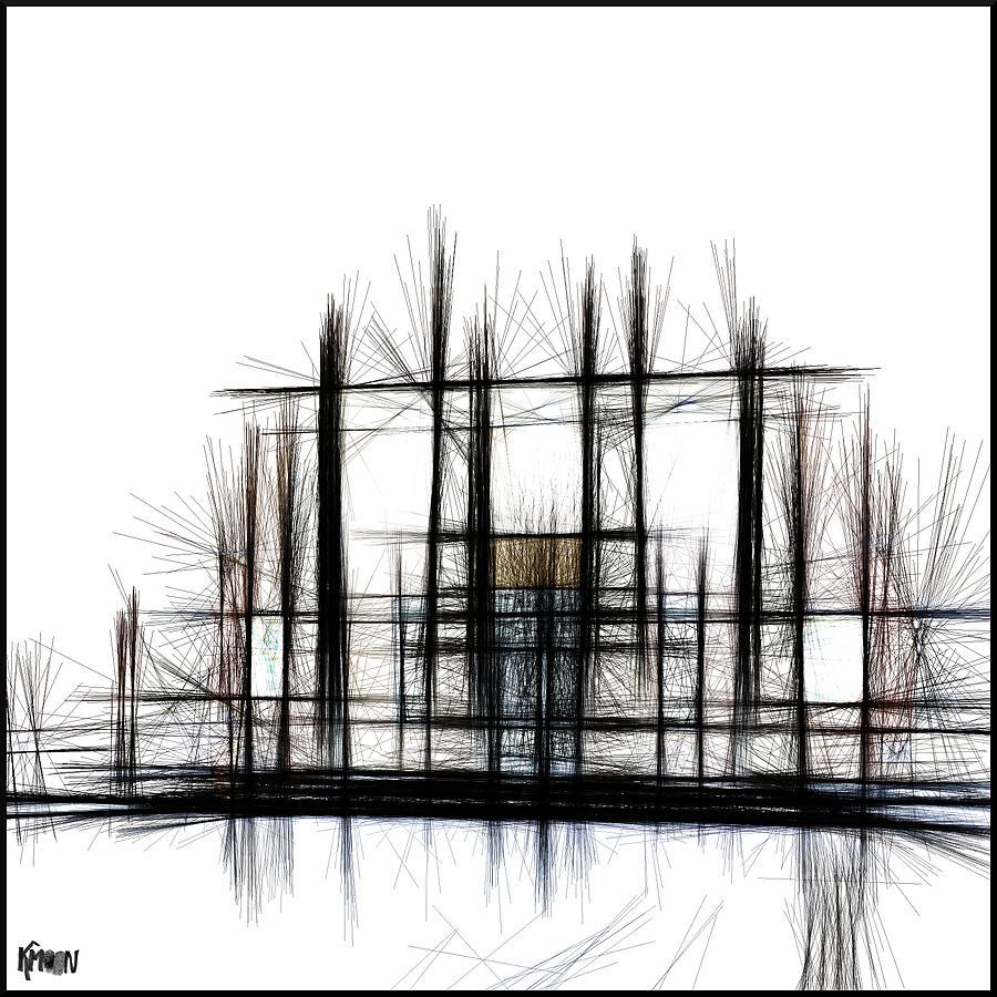 Digital Digital Art - Art Transfer by The KMoon