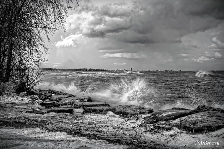 East View Across Erie Digital Art