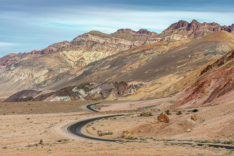 Artists Drive Death Valley Photograph