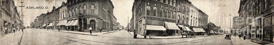 Ashland Panoramic Postcard Photograph