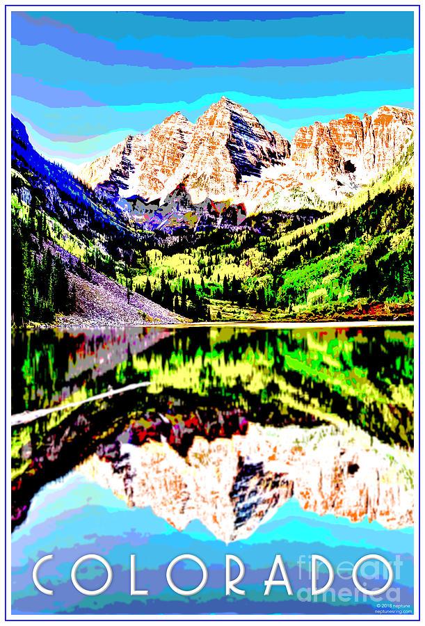 Colorado Digital Art - Aspen Colorado by Jason Neptune
