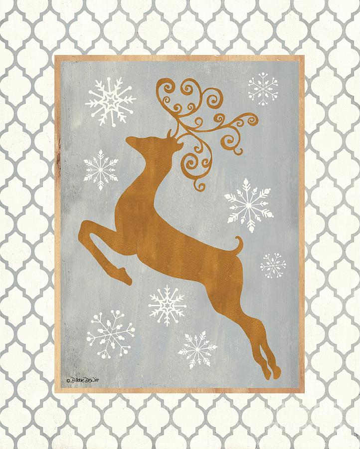 Aspen Cove Reindeer Painting
