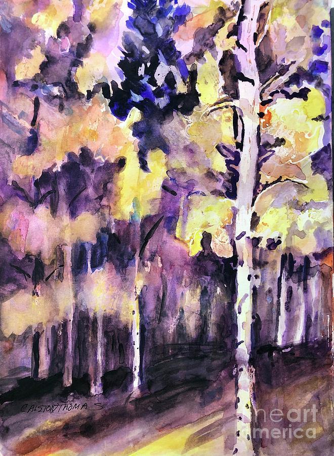 Aspen Inspired Painting