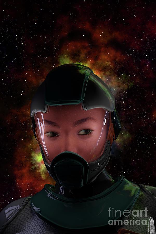 Astronaut by Clayton Bastiani