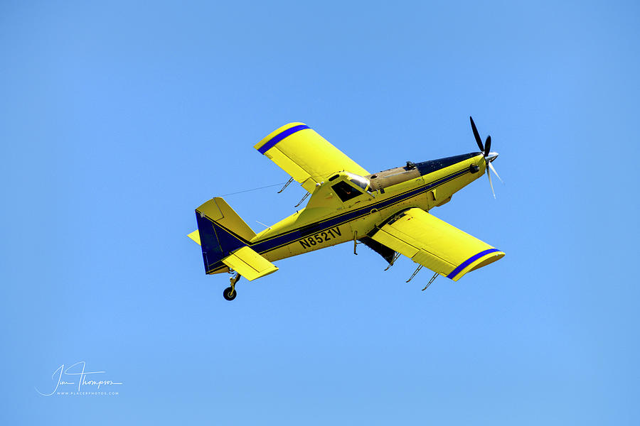 Air Tractor Photograph - AT-602 Air Tractor by Jim Thompson