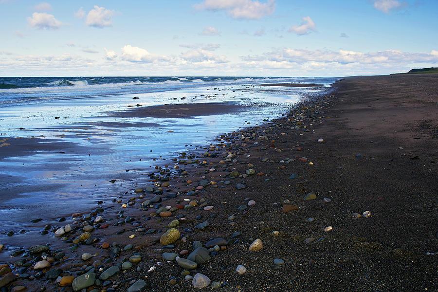 Beach Photograph - At Glen Wyllin by Steve Watson
