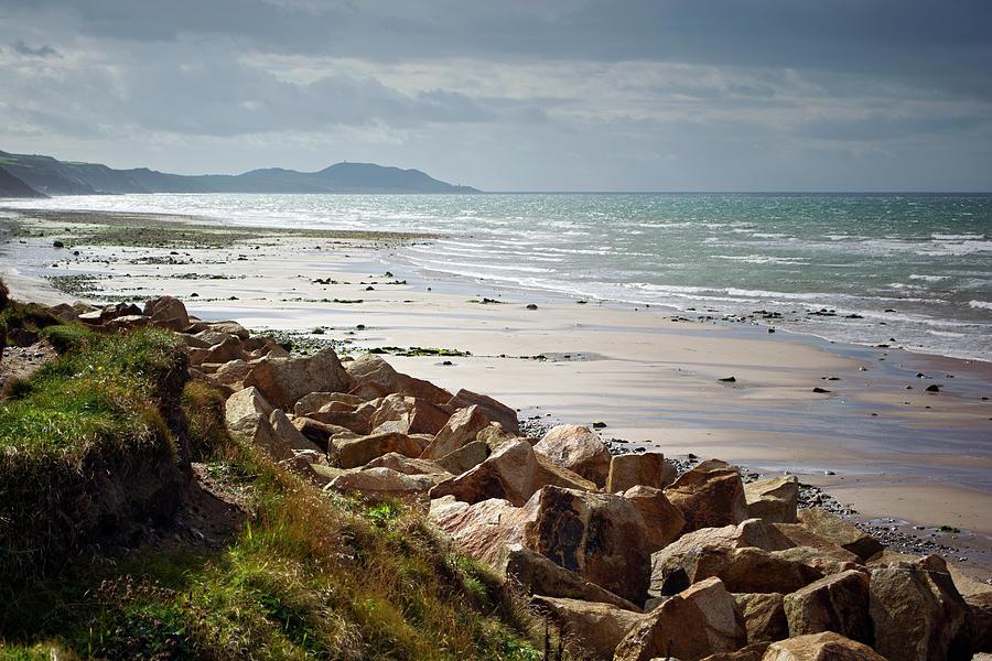 Beach Photograph - At Kirk Michael by Steve Watson