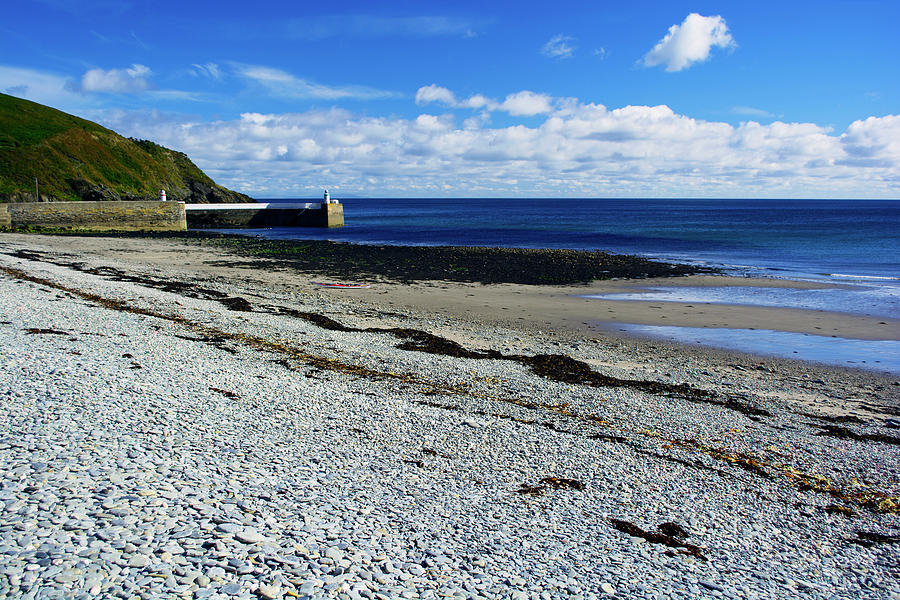 Isle Of Man Photograph - At Laxey by Steve Watson