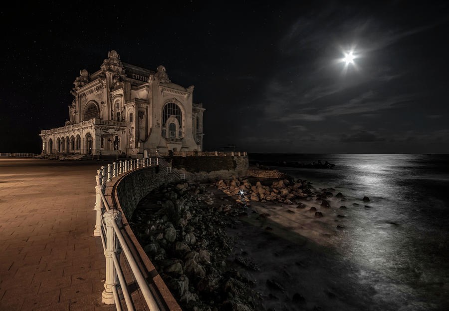 At night in Constanca by Jaroslaw Blaminsky