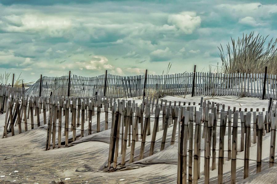 Beach Photograph - At The Beach by Cathy Kovarik