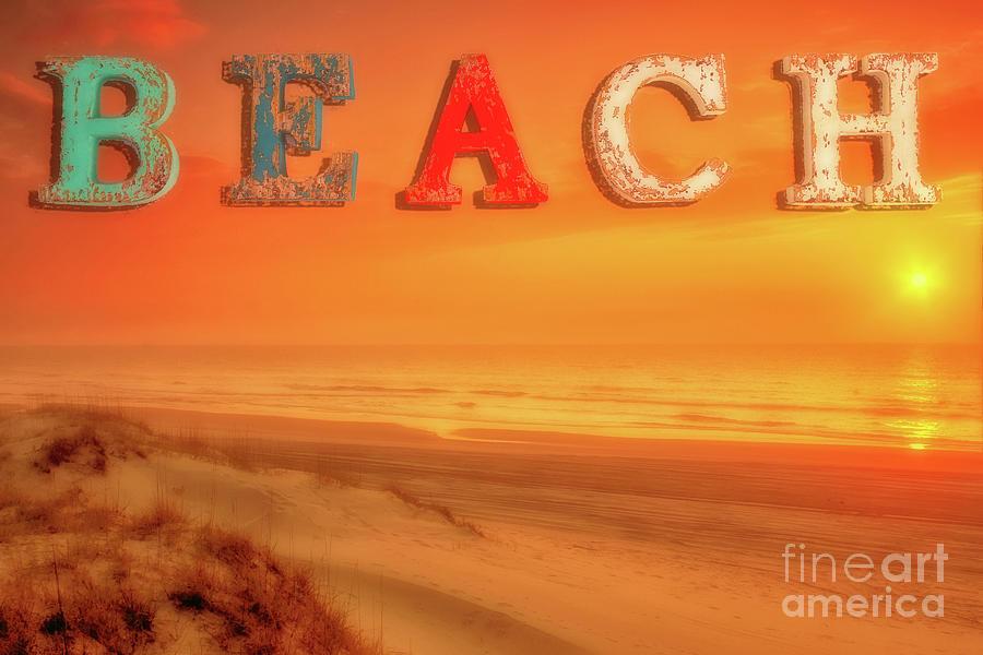 At The Beach Digital Art