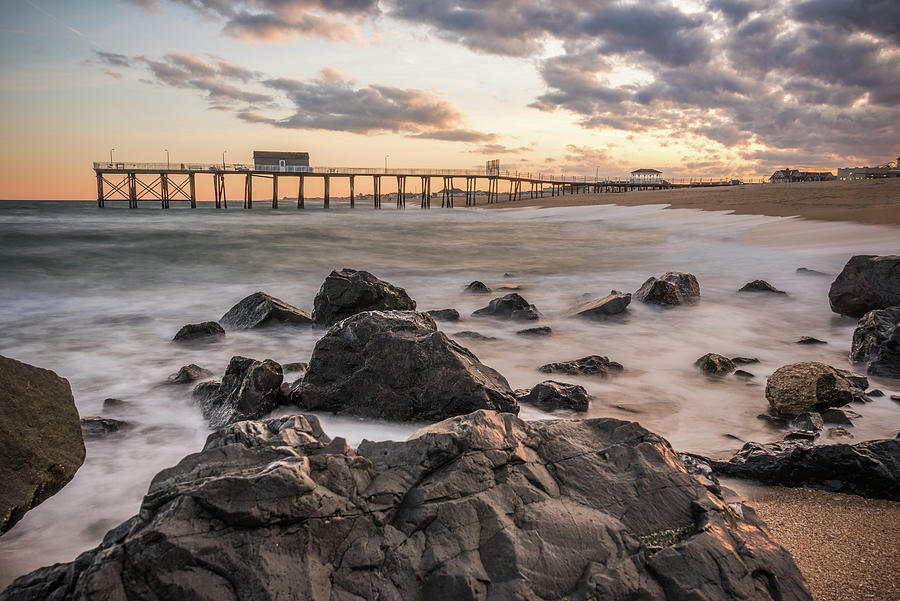 Belmar Photograph - At The End by Kristopher Schoenleber
