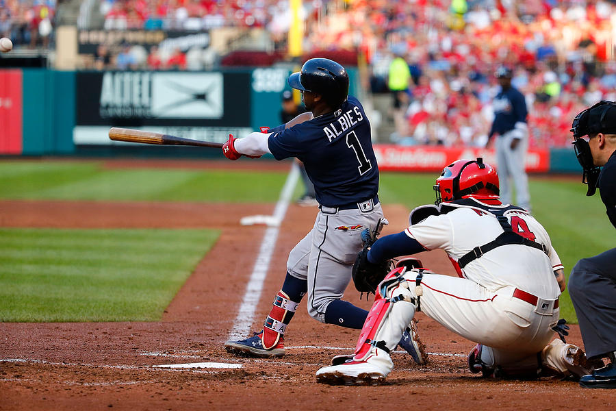 Atlanta Braves v St Louis Cardinals Photograph by Dilip Vishwanat
