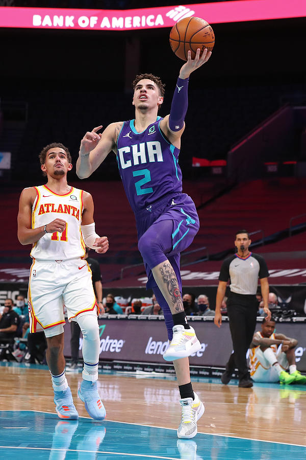 Atlanta Hawks v Charlotte Hornets Photograph by Brock Williams-Smith