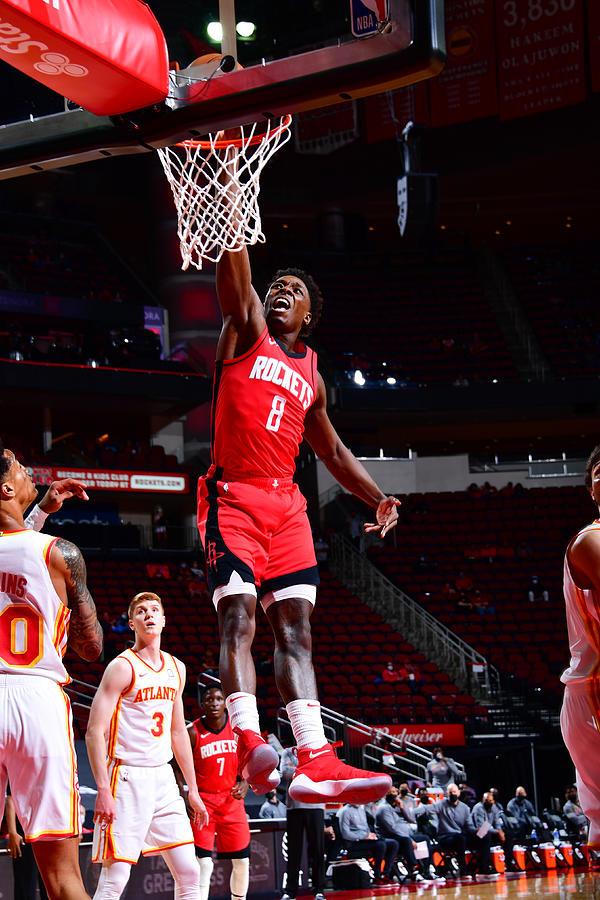 Atlanta Hawks v Houston Rockets Photograph by Cato Cataldo