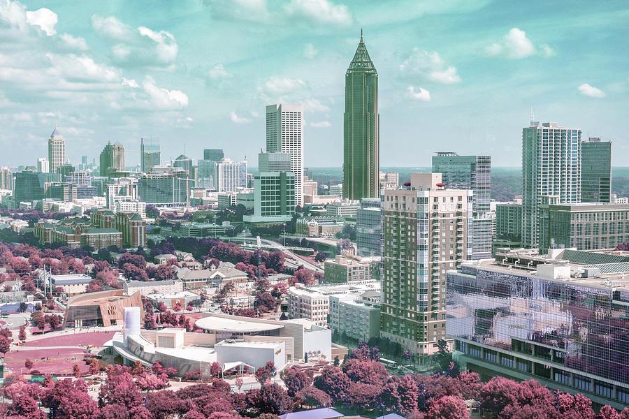 Atlanta, United States - Surreal Art By Ahmet Asar Digital Art