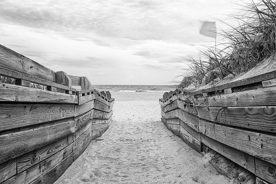 Atlantic Beach North Carolina Beach Access Photograph