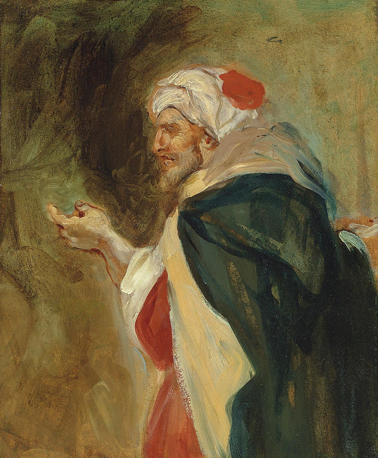 Attributed To Eugene Delacroix Painting