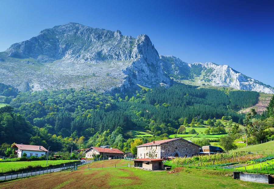 Atxondo Valley, Basque Country, Spain. Photograph