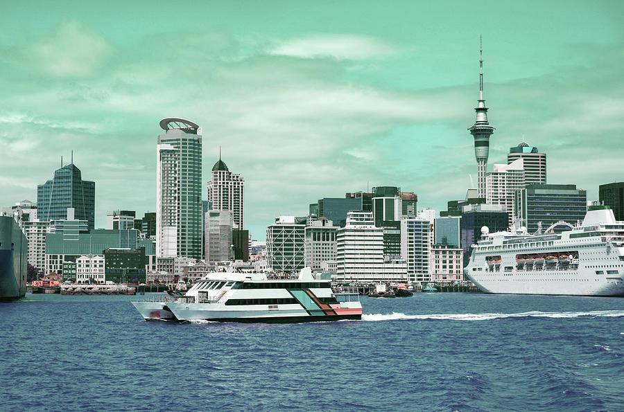 Auckland, New Zealand - Surreal Art By Ahmet Asar Digital Art