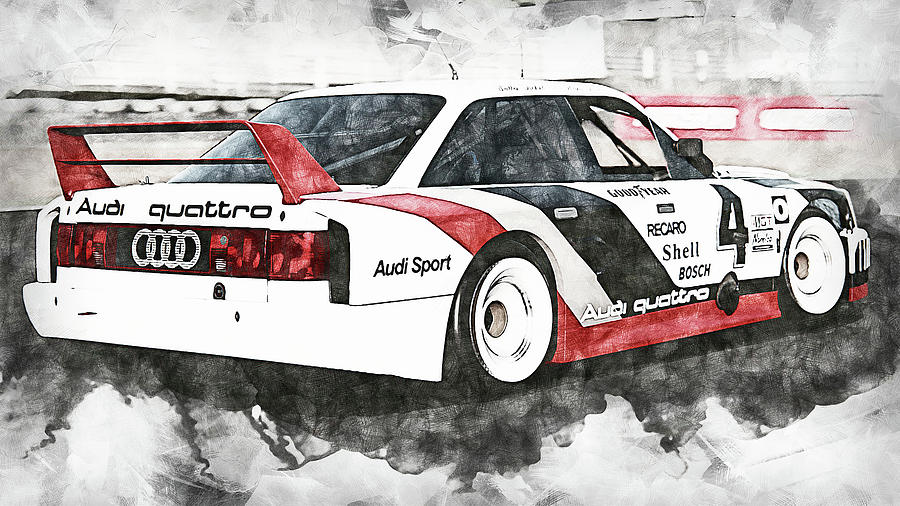 Audi 90 Imsa Gto - 06 Painting