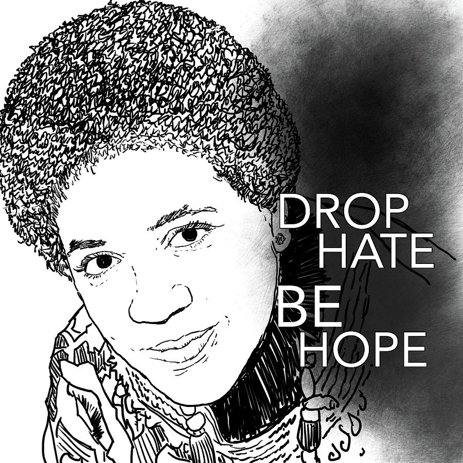 Audre Lorde Digital Art
