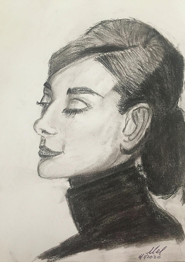 Audry Hepburn Drawing