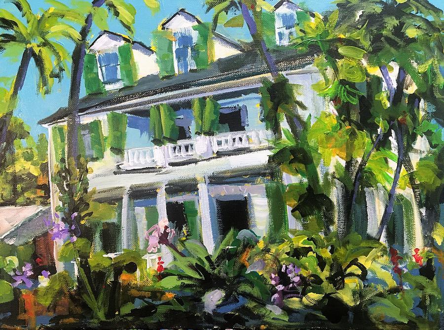 Audubon House - Key West Painting