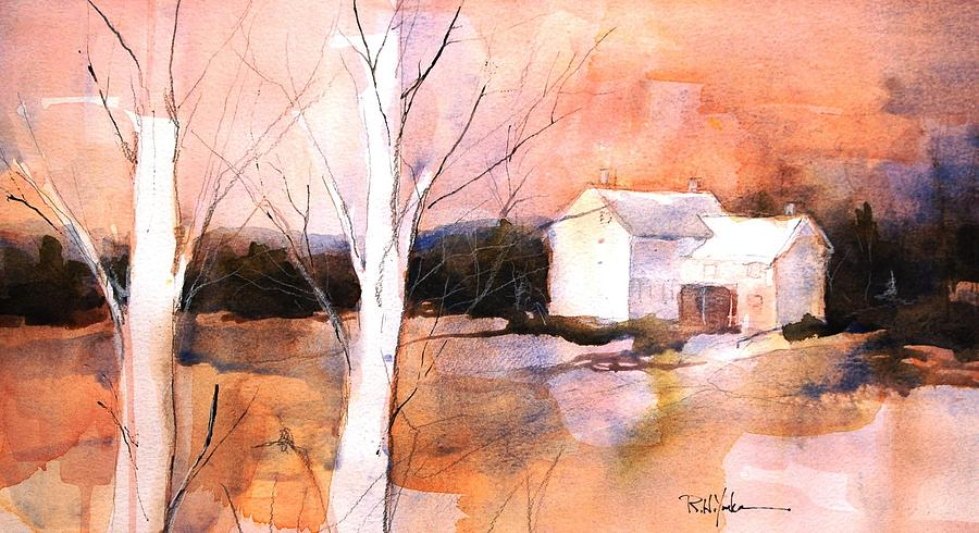 Laurel Highlands Painting - Aurelia by Robert Yonke