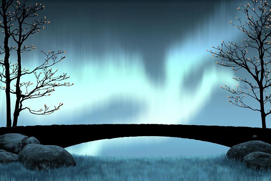 Aurora borealis draconis by Moira Risen